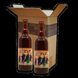 Box met 2x 75cl flessen