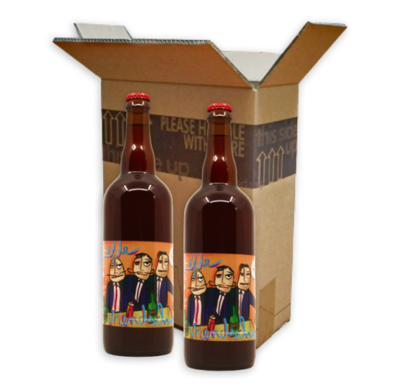Box met 2x 75cl flessen